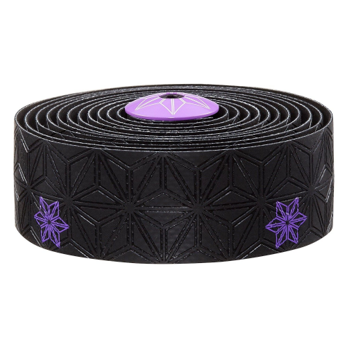 Supacaz Super Sticky Kush Galaxy Handle Bar Tape - Neon Purple